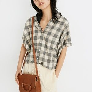 Madewell Central Shirt in Buffalo Check